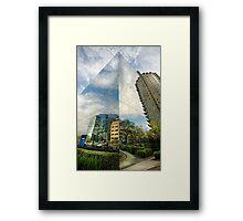 Sky & Sky Framed Print