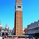 clock tower in venice by xxnatbxx