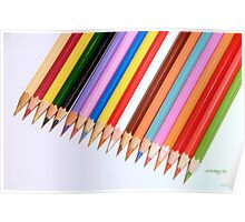 Crayons Poster