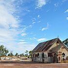 Corrugated Iron Church - Lightning Ridge NSW Australia by Bev Woodman