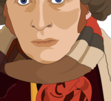 The 4th Doctor Sticker