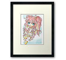 Magical Usagi-tan Framed Print