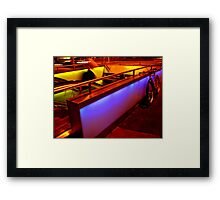 Subway Entrance Framed Print