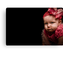 I'm Ready for my Close-Up... Canvas Print