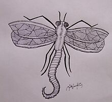 Dragon-fly by mikeloughlin