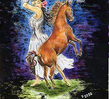 Inner sister act by Yvonne Lautenschlaeger aka medea