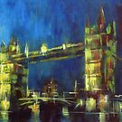 Painting: Tower Bridge London by Samuel Durkin