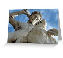 Theseus and the Minotaur (Paris) Greeting Card
