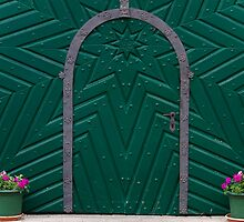 A Green Door by Walter Quirtmair