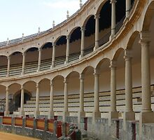 Ronda, Spain bullring by fototaker