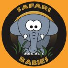 Safari Babies Elephant by reflections06