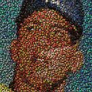 The MICK Bottle Caps Mosaic by finalscore