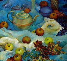 blu still life by elisabetta trevisan