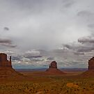 Monument Valley Navajo Tribal Park - Lunchtime view by gail anderson
