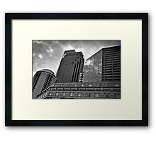 Windows on Logan Square - Philadelphia, PA Framed Print
