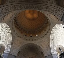 San Francisco City Hall - Look UP by fototaker