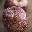 Apples still life. by Pablo Caridad