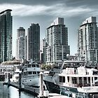 Vancouver marina by Andrey Popov