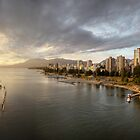 Sunset over Vancouver, BC (Canada) by Andrey Popov