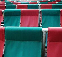 University Theatre Seating  by Eve Parry