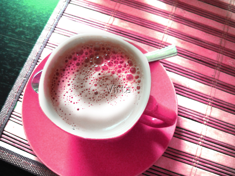 Coffee in Pink. by Vitta