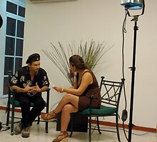 Tv. interview by Angel Ortiz