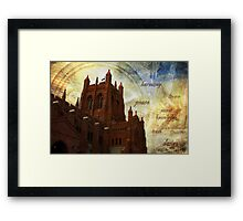 Mystic Cathedral Framed Print