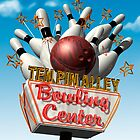 Ten Pin Alley Retro Bowling Neon Sign by Anthony Ross