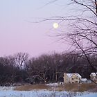 Full Moon over Grand Point Meadows by k253