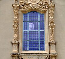 Ornate Window  by Bob Hortman