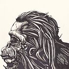 Hominid  by Terry  Waldher