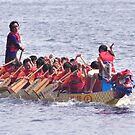 Dragon Boat Race Plate # 31 by Matsumoto