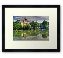 Flood in Győr Framed Print