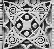 Wainwright Building Detail II, St. Louis, Louis Sullivan by Crystal Clyburn
