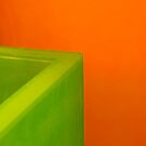 Green on Orange by Jeffrey  Sinnock