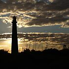 Point Moore Lighthouse ~ Geraldton WA by Pene Stevens
