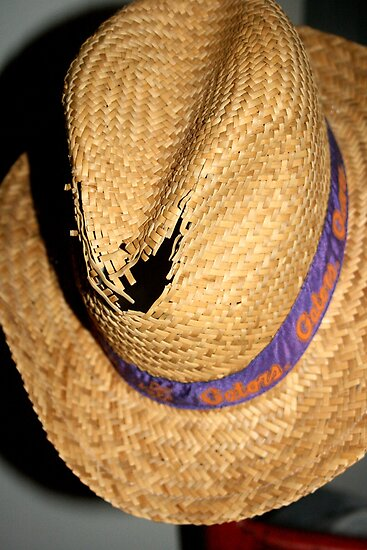 Well Worn Gator Hat!! by heatherfriedman