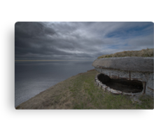 Front Row Seat To Armageddon Canvas Print
