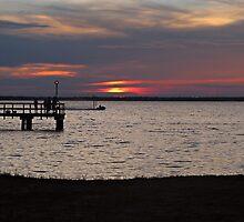 Sunset in Destin by Kathy Yates