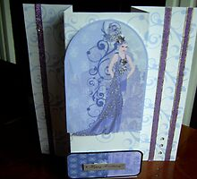 Art deco hand made card by anaisnais