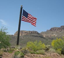 Apache Trail Flag by jdbussone