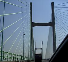 Severn Bridge Structure by anaisnais