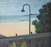 St Kilda Beach by Margo Humphries