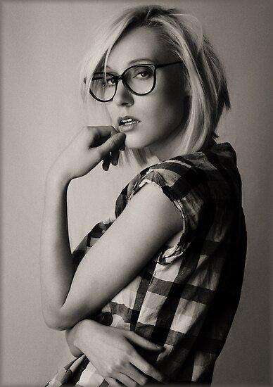 a portrait of Iveta by Rebecca Tun