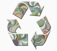 Recycling Symbol T Shirt by simpsonvisuals