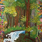 Rainforest - vivid by Margo Humphries