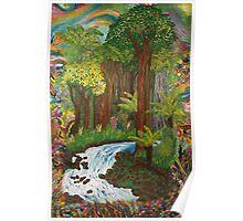 Rainforest - vivid Poster