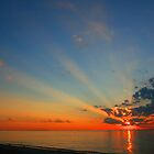 Lake Michigan Sunset by rtishner1