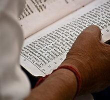 Haridwar: reading shot with a difference! by Dinni H