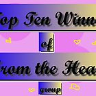 top ten banner from the heart group by Linda Press